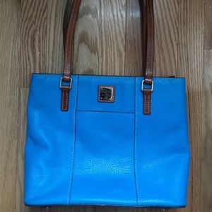 Blue donkey and bourke Lexington shopper purse